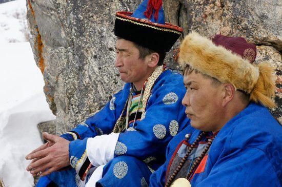 бурятские шаманы