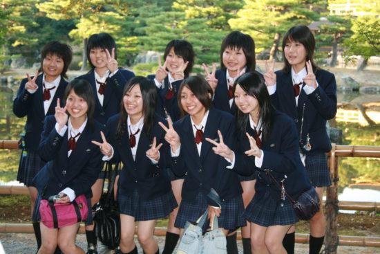 студенты в Азии
