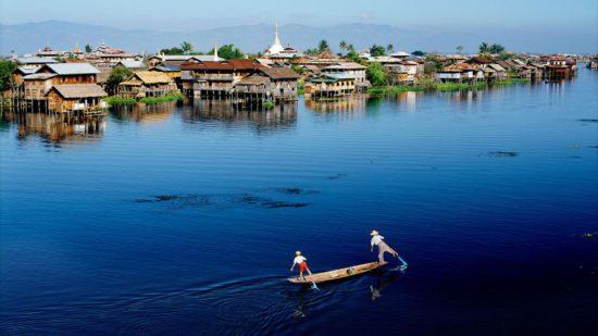 бирманское озеро