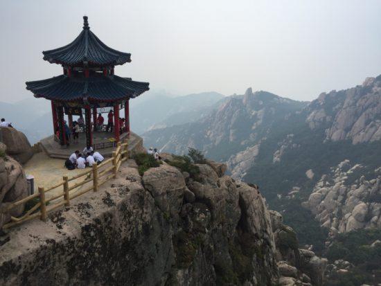 Гора и монастырь