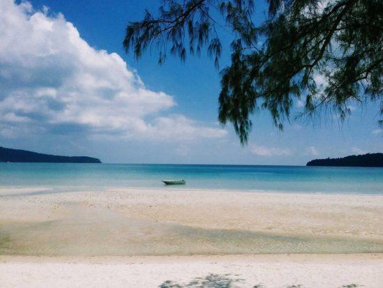 пляж Кох Ронг Самлоем