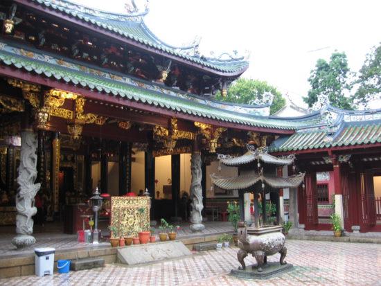 храм в Сингапуре