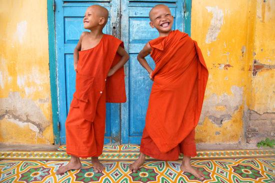маленькие буддисты