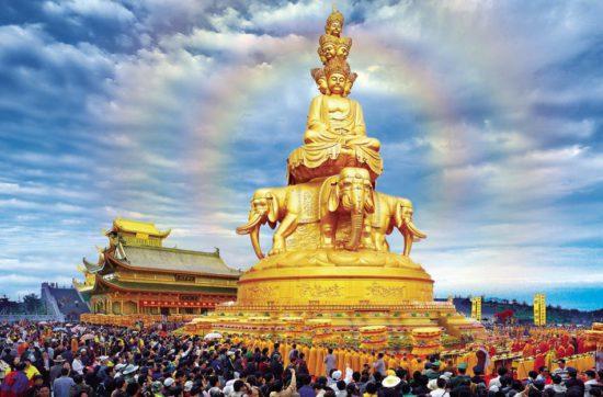 Будда на слоне