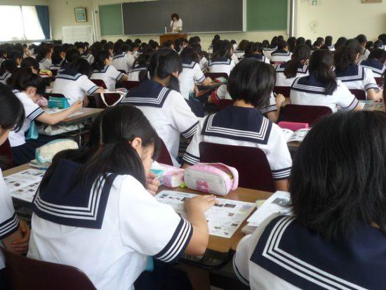 экзамены в японской школе