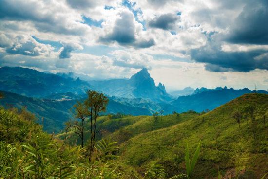 пейзаж Лаоса