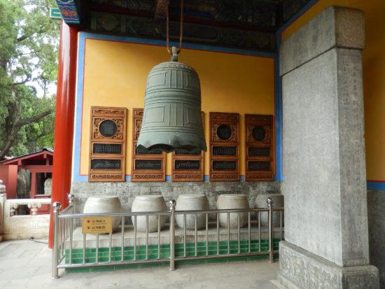 колокол в конфуцианском храме