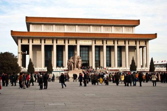 мавзолей в Китае