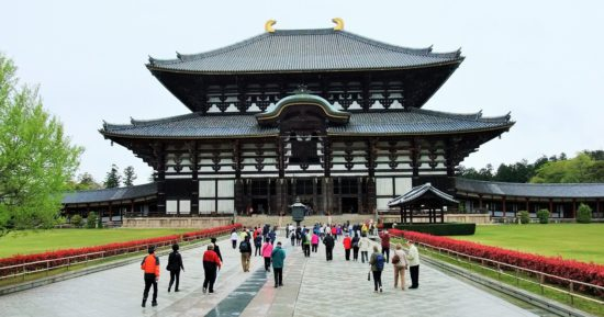 храм в Японии