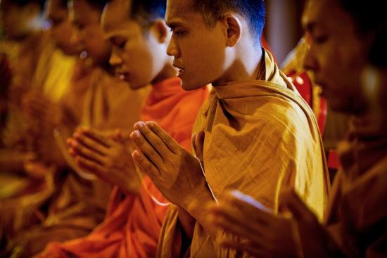 монахи тхеравады
