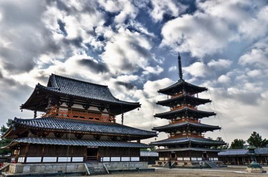 Хорю-дзи в Японии