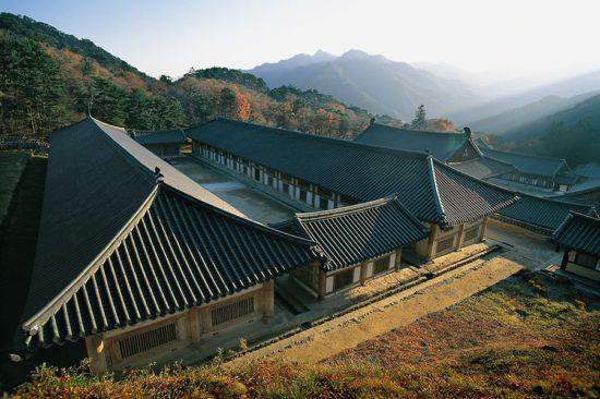 Храм в Южной Корее