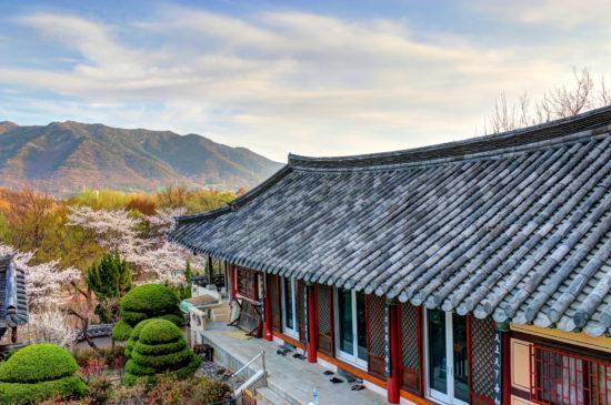 городок в Южной Корее