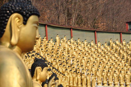 1000 будд в Корее