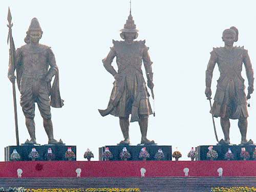 три короля Мьянмы