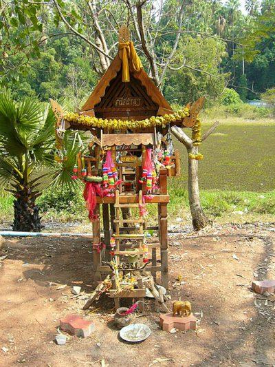 Анимизм в Лаосе