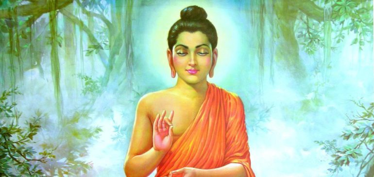 Жена Будды в медитации