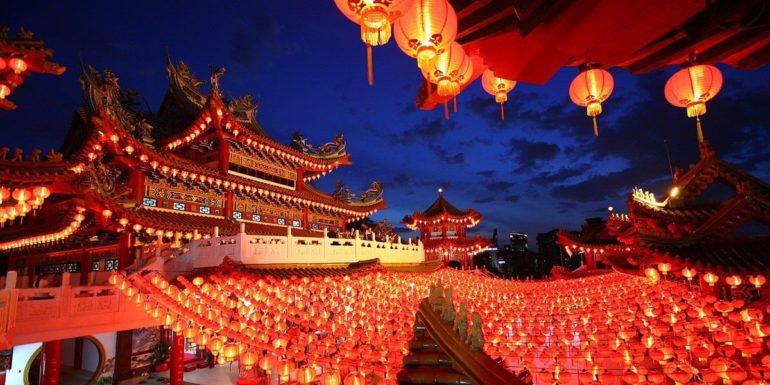 Китай, фонари