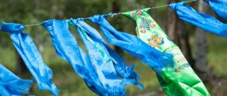 монгольские и тибетские шарфы