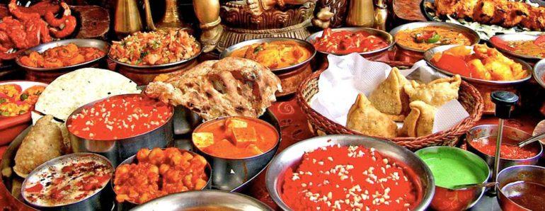 блюда индийские