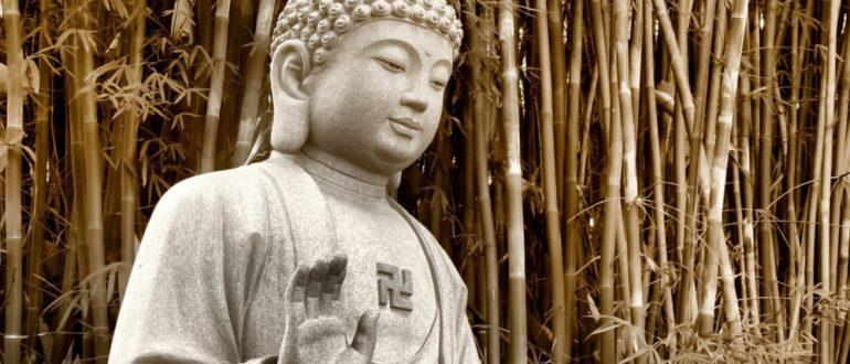 статуя просветленного