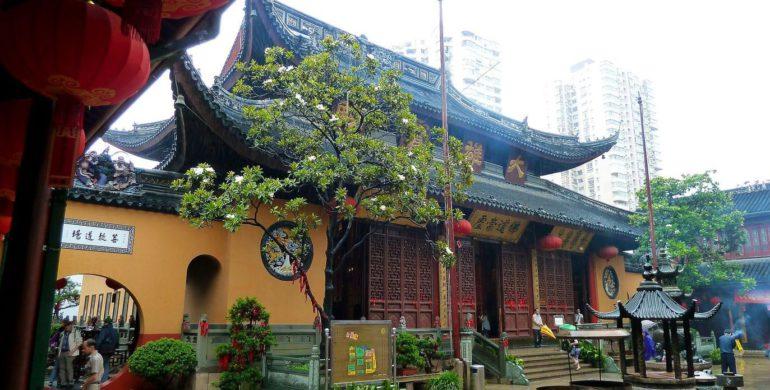 Монастырь в Китае