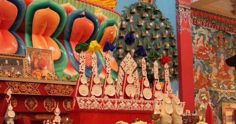 атрибутика буддизма