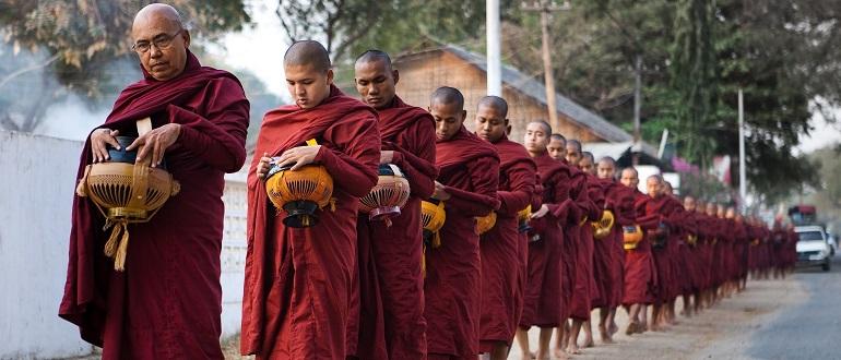 сангха в Тибете