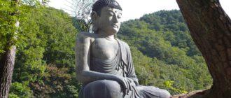 статуя Будды в Южной Корее