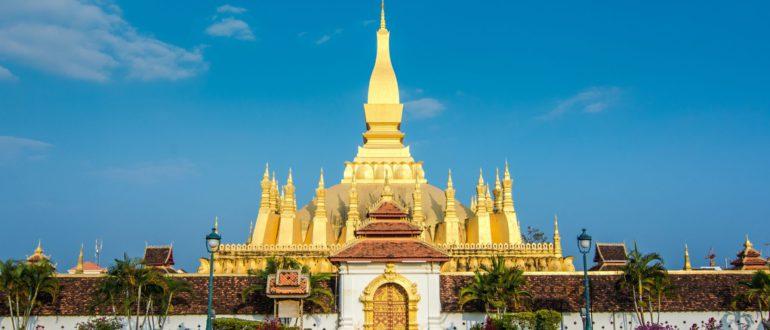 храм в Лаосе